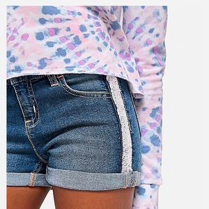 Justice Girls Sequin Flip Denim Shorts ( 7 slim )